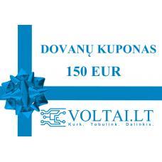 Dovanų kuponas 150 EUR