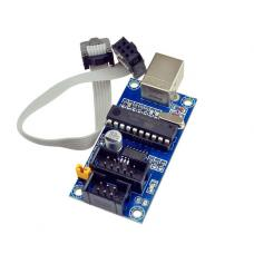 USBtinyISP AVR Bootloader programatorius