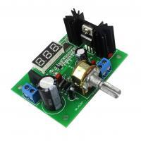 DC/DC, AC/DC įtampos keitiklis  iš DC 0-30V; AC 0-22V į 1.25-28V, LM317+ LED indikatorius (STEP DOWN)