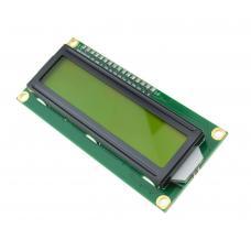 16x2 LCD ekranas su I2C valdymu (žalias)