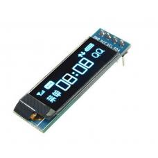 "OLED ekranas 0.91"" 128x32px 4pin (mėlynas)"