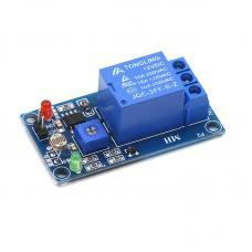 1 kanalo relės modulis su fotorezistoriumi 12V