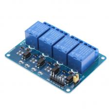 4 kanalų 5V relių modulis