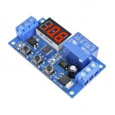 1 kanalo 12V programuojamas relės modulis su LED indikatoriumi