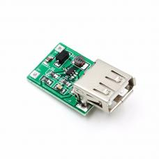 DC/DC įtampos keitiklis iš  0.9-5V į 5V USB 600mA (STEP UP)
