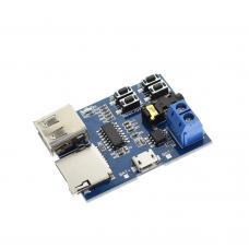 MP3 grotuvas su stiprintuvu ir valdymo mygtukais