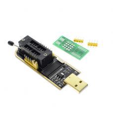 CH341A EEPROM ir FLASH atminties mikroschemų programatorius