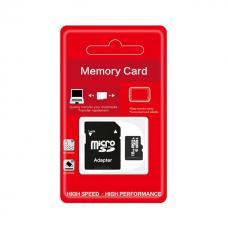 16GB 10 klasės microSD kortelė su adapteriu