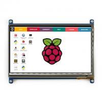 """TFT LCD  7"""" liečiamo ekrano priedėlis 1024x600px Raspberry PI"""