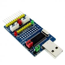 CH341A USB - I2C/IIC/SPI/UART/TTL/ISP keitiklis