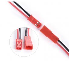 JST-RCY lizdas ir kištukas su laidais 2pin