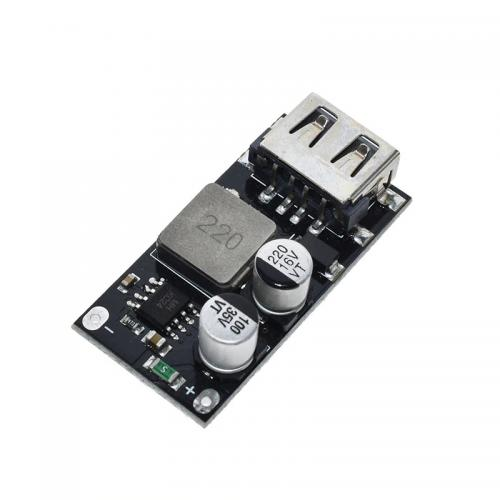 DC/DC greitojo krovimo (fast charge ) įtampos keitiklis iš 12V-24V su USB išėjimu (STEP DOWN)