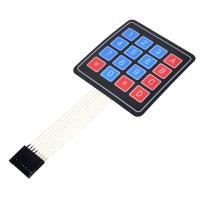 16 skaitmenų membraninė klaviatūra (4x4)