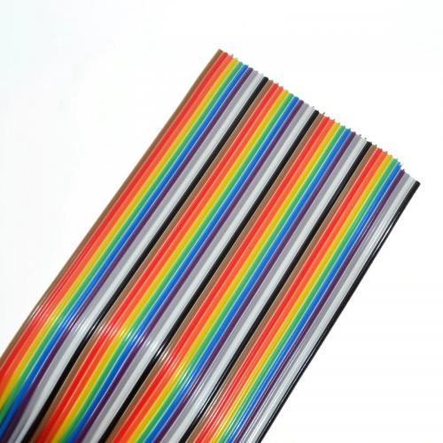 40 gijų plokščias laidas (50cm)