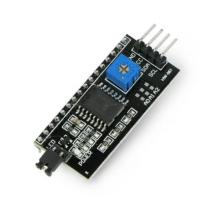 I2C valdiklis HD44780 LCD ekranui