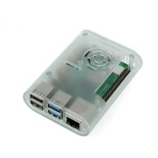 Raspberry Pi 4B dėklas ABS (skaidrus)
