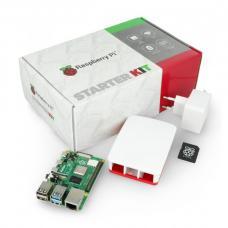 Raspberry Pi 4B WiFi 8GB RAM rinkinys + 32GB microSD + oficialūs priedai